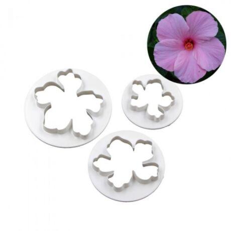 Hawaii virág kiszúró szett