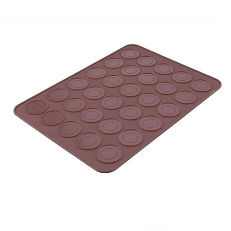 Macaron szilikon sütőlap - 30 db sablonnal